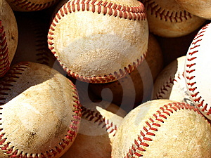 Bucket Of Balls Royalty Free Stock Image - Image: 8456766