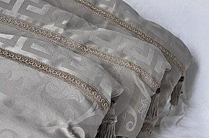 Beige Pillows Royalty Free Stock Photography - Image: 8457217