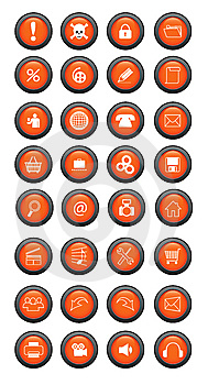 Button Stock Images - Image: 8457304