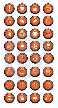Botão Imagens de Stock - Imagem: 8457304