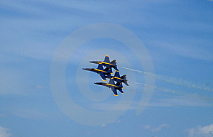 Blue Angels Stock Image - Image: 8458041