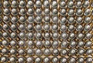 Rows Of Bullets Royalty Free Stock Image - Image: 8458096