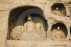 Yungang Caves Stock Photos - Image: 8458923