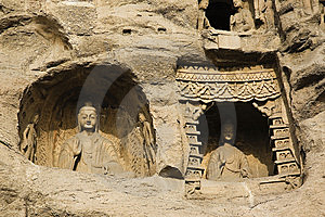 Yungang Caves Stock Photos - Image: 8458953