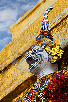 Giant - Grand Palace Stock Image - Image: 8459151