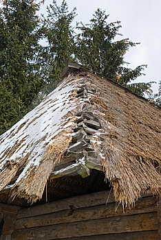 Thatch Roof Royalty Free Stock Photography - Image: 8459607