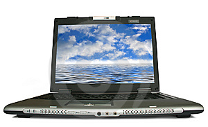 Laptop Royalty Free Stock Image - Image: 8459796