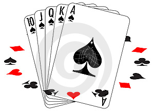 Set Of Playing Cards Stock Photos - Image: 8459993