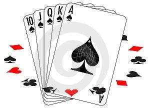 Set Of Playing Cards Stock Photos - Image: 8459993