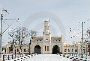 сentral Part Of City Station Royalty Free Stock Images - Image: 8460019