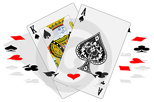 Set Of Playing Cards Royalty Free Stock Photo - Image: 8460065