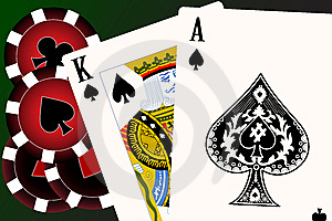 Set Of Playing Cards. Royalty Free Stock Photos - Image: 8460098