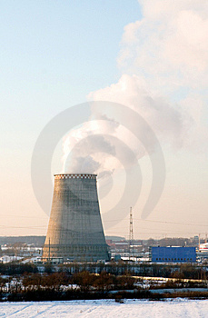 Boiler-house Stock Image - Image: 8460261