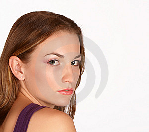Over The Right Shoulder Stock Photography - Image: 8460592