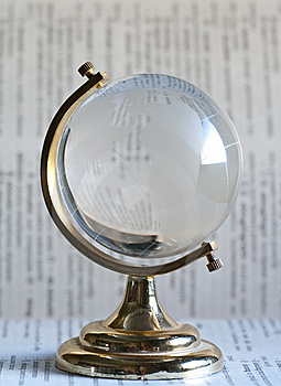 Glass Globe Stock Photos - Image: 8460623