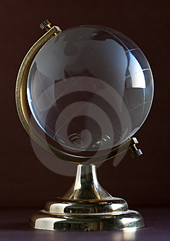Glass Globe Royalty Free Stock Photography - Image: 8460647