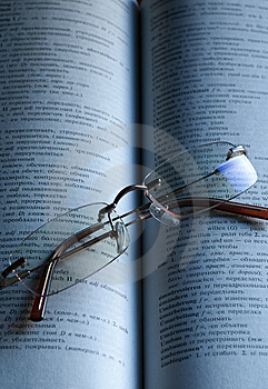 Reading Glasses Stock Image - Image: 8460751