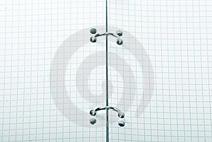 Open Note Book Royalty Free Stock Image - Image: 8460776