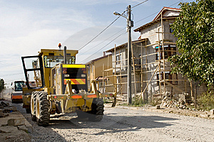 Construction Site Royalty Free Stock Images - Image: 8461169