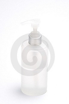 A Bottle With Nozzle Royalty Free Stock Photo - Image: 8461435