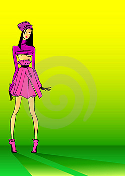 Girl Royalty Free Stock Image - Image: 8462276
