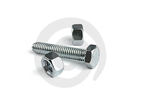 Bolt And Screw Nuts Stock Photography - Image: 8462592