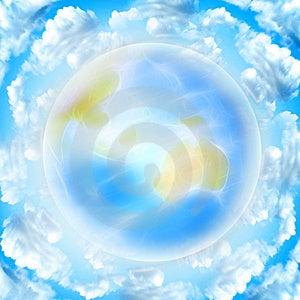 Blue Planet Royalty Free Stock Photo - Image: 8463425