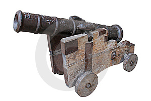 Ancient Cannon Royalty Free Stock Photo - Image: 8463655
