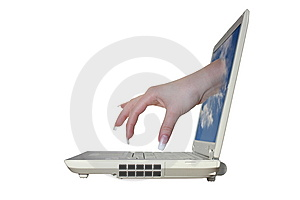 Computer. Stock Images