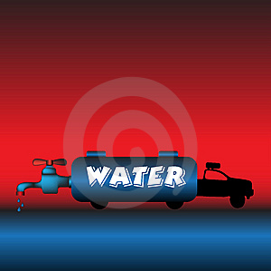 Water Truck Stock Images - Image: 8464294