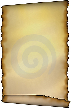 Old Scroll With Burnt Edges Royalty Free Stock Photo - Image: 8465085