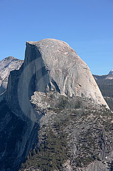 The Half Dome Royalty Free Stock Photo - Image: 8465325