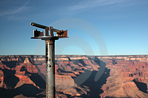 Looking At The Grand Canyon Stock Images - Image: 8465364
