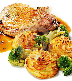 Pork Brisket With Potato Stock Photos - Image: 8465383