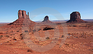 Monument Valley Landscape Stock Photography - Image: 8465402