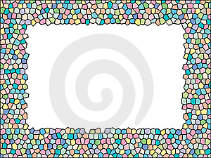 Stained Glass Frame Royalty Free Stock Photography - Image: 8465497