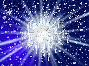 Large Snowflake Royalty Free Stock Photography - Image: 8465937