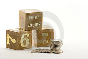 Tax Year Money Stock Photos - Image: 8466843