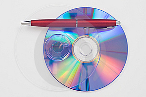 Cd Copy Data Royalty Free Stock Photo - Image: 8467335