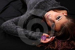 Fashion Woman Stock Image - Image: 8467391