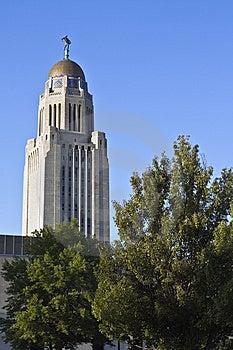Lincoln, Nebraska - State Capitol Royalty Free Stock Photo - Image: 8467495