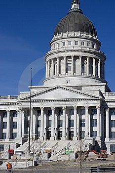 Utah - State Capitol Stock Images - Image: 8467584
