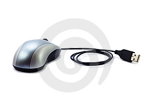 Modern Optical Wheel Mouse Stock Photography - Image: 8467692