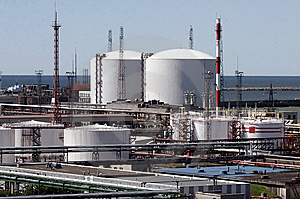 Fuel Tanks Royalty Free Stock Photography - Image: 8467877