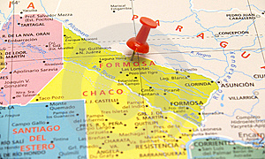 Map Of Argentina Royalty Free Stock Image - Image: 8468006