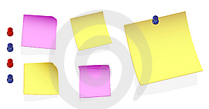 Post Notes Royalty Free Stock Image - Image: 8468286