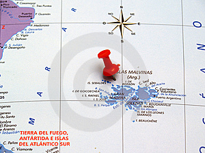 Map Of Argentina Royalty Free Stock Image - Image: 8468526