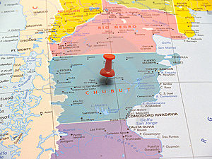 Map Of Argentina Royalty Free Stock Photos - Image: 8468608