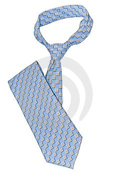 Neck Tie Isolated On The White Background Royalty Free Stock Images - Image: 8469559