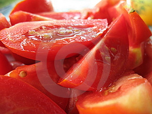 The Tomatoes Stock Image - Image: 8470121
